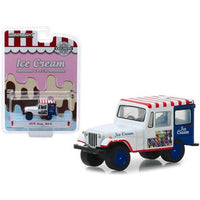 "1975 Jeep DJ-5 Ice Cream Truck ""Hobby Exclusive"" 1/64 Diecast Model Car by Greenlight"