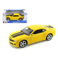 2010 Chevrolet Camaro RS SS Yellow 1/24 Diecast Model Car by Maisto