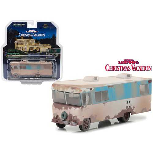 "1972 Condor II RV from ""National Lampoon Christmas Vacation"" Movie HD Trucks Series 10 1/64 Diecast Model by Greenlight"