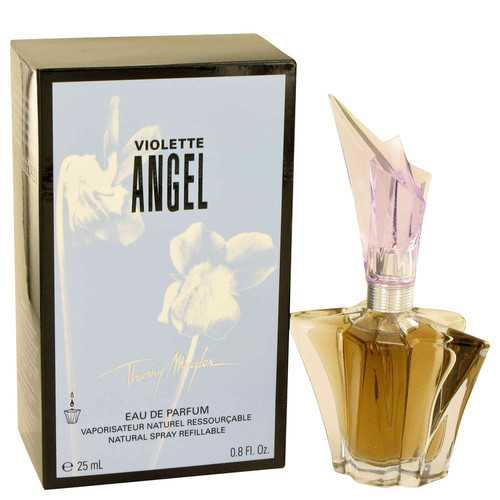 Angel Violet by Thierry Mugler Eau De Parfum Spray Refillable .8 oz (Women)