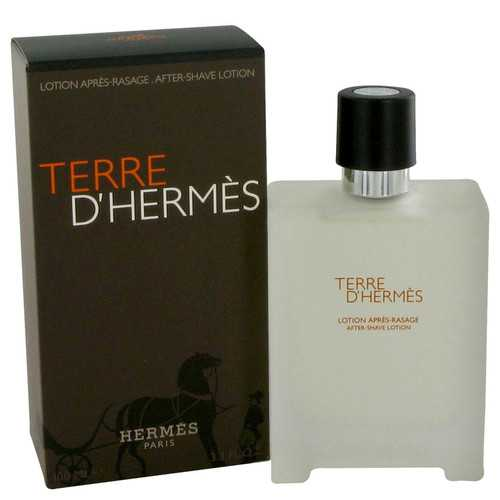 Terre D'Hermes by Hermes After Shave Lotion 3.4 oz (Men)