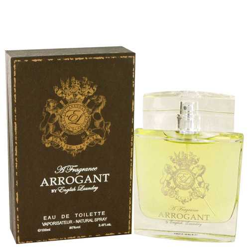 Arrogant by English Laundry Eau De Toilette Spray 3.4 oz (Men)