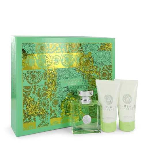 Versace Versense by Versace Gift Set -- 1.7 oz Eau De Toilette Spray + 1.7 oz Body Lotion + 1.7 oz Shower Gel (Women)