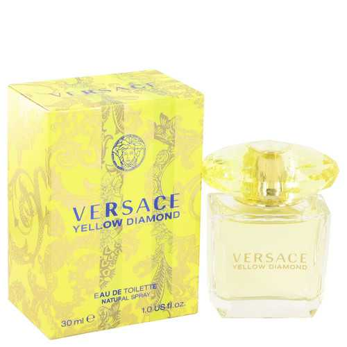 Versace Yellow Diamond by Versace Eau De Toilette Spray 1 oz (Women)