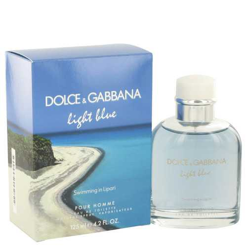 Light Blue Swimming in Lipari by Dolce & Gabbana Eau De Toilette Spray 4.2 oz (Men)