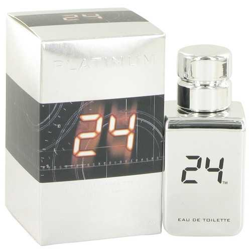 24 Platinum The Fragrance by ScentStory Eau De Toilette Spray 1 oz (Men)