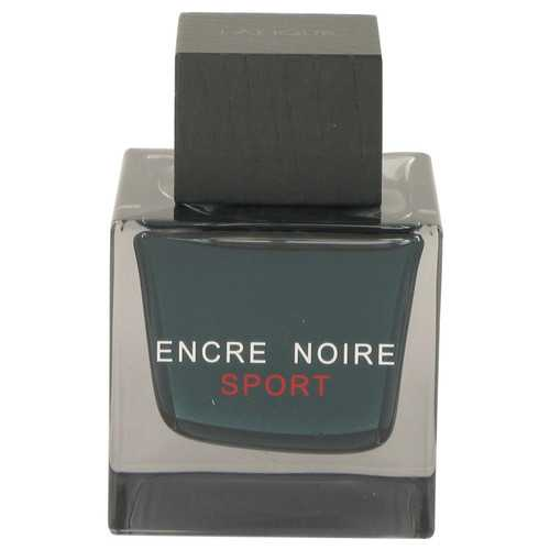 Encre Noire Sport by Lalique Eau De Toilette Spray (Tester) 3.3 oz (Men)