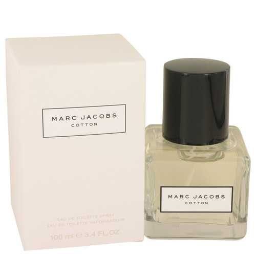 Marc Jacobs Cotton by Marc Jacobs Eau De Toilette Spray 3.4 oz (Women)