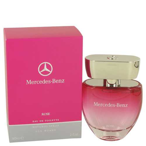 Mercedes Benz Rose by Mercedes Benz Eau De Toilette Spray 2 oz (Women)