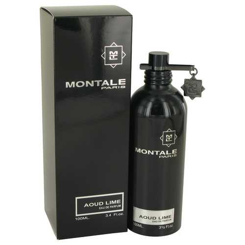Montale Aoud Lime by Montale Eau De Parfum Spray (Unisex) 3.4 oz (Women)