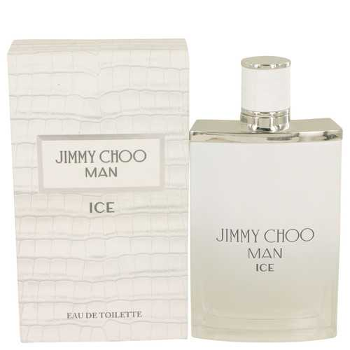 Jimmy Choo Ice by Jimmy Choo Eau De Toilette Spray 3.4 oz (Men)