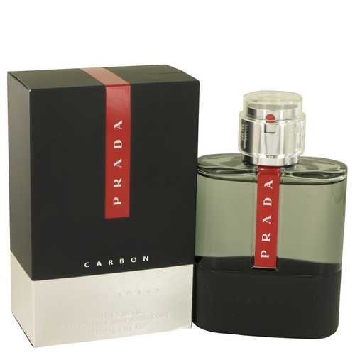 Prada Luna Rossa Carbon by Prada Eau De Toilette Spray 3.4 oz (Men)