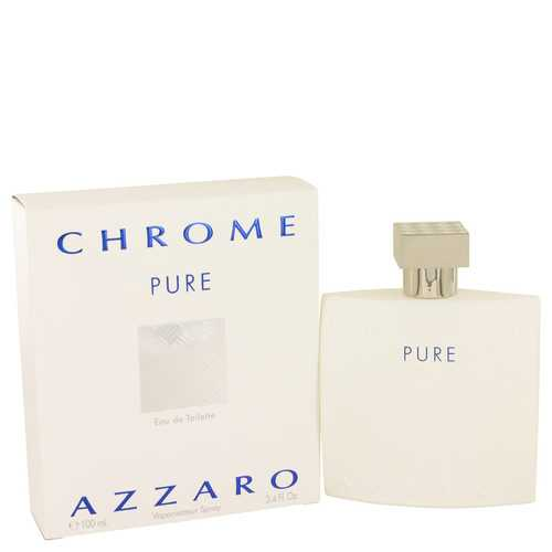 Chrome Pure by Azzaro Eau De Toilette Spray 3.4 oz (Men)