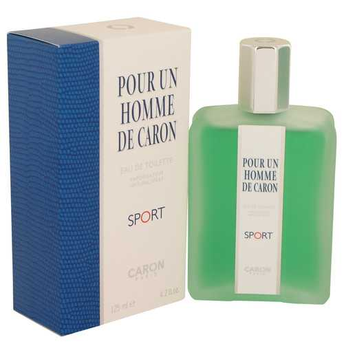 Caron Pour Homme Sport by Caron Eau De Toilette Spray 4.2 oz (Men)