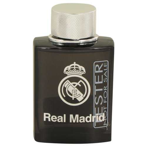Real Madrid Black by Air Val International Eau De Toilette Spray (Tester) 3.4 oz (Men)