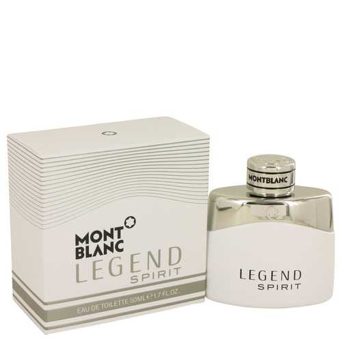 Montblanc Legend Spirit by Mont Blanc Eau De Toilette Spray 1.7 oz (Men)