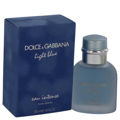Light Blue Eau Intense by Dolce & Gabbana Eau De Parfum Spray 1.7 oz (Men)
