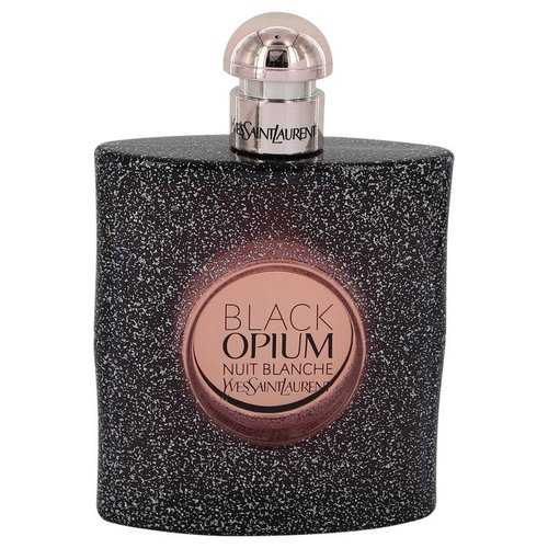 Black Opium Nuit Blanche by Yves Saint Laurent Eau De Parfum Spray (Tester) 3 oz (Women)