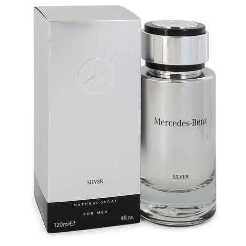 Mercedes Benz Silver by Mercedes Benz Eau De Toilette Spray 4 oz (Men)