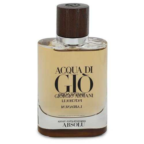 Acqua Di Gio Absolu by Giorgio Armani Eau De Parfum Spray (Tester) 2.5 oz (Men)