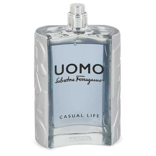 Salvatore Ferragamo Uomo Casual Life by Salvatore Ferragamo Eau De Toilette Spray (Tester) 3.4 oz (Men)