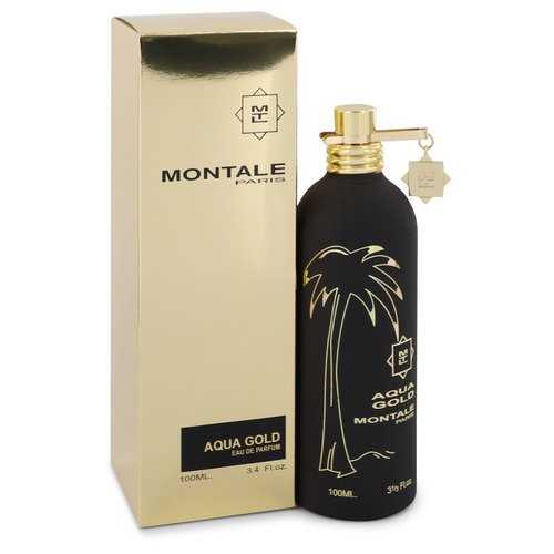 Montale Aqua Gold by Montale Eau De Parfum Spray 3.4 oz (Women)