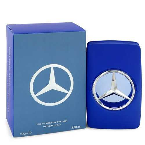 Mercedes Benz Man Blue by Mercedes Benz Eau De Toilette Spray 3.4 oz (Men)