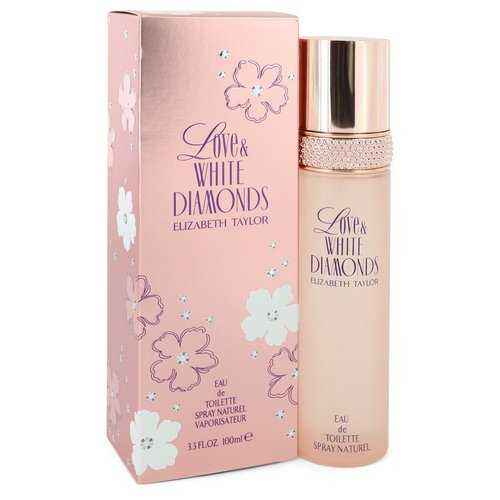 Love & White Diamonds by Elizabeth Taylor Eau De Toilette Spray 3.3 oz (Women)