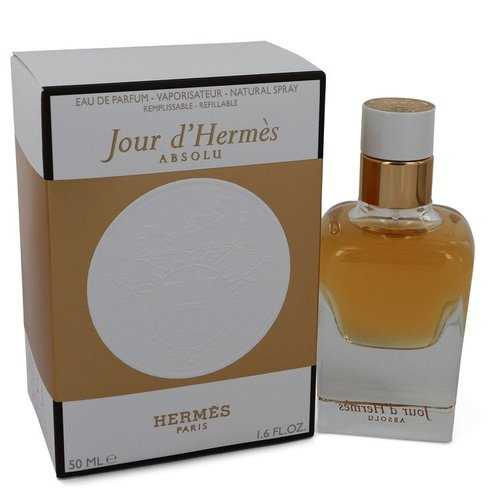 Jour D'hermes Absolu by Hermes Eau De Parfum Spray Refillable 1.6 oz (Women)