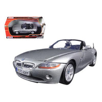 BMW Z4 Silver 1/24 Diecast Model Car by Motormax