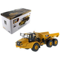 "CAT Caterpillar 745 Articulated Dump Truck with Removable Operator ""High Line"" Series 1/50 Diecast Model by Diecast Masters"