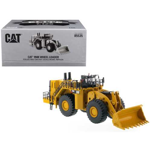 "CAT Caterpillar 994K Wheel Loader ""Elite Series"" 1/125 Diecast Model by Diecast Masters"