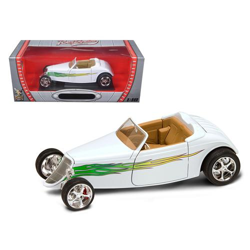1933 Ford Roadster White 1/18 Diecast Car by Road Signature