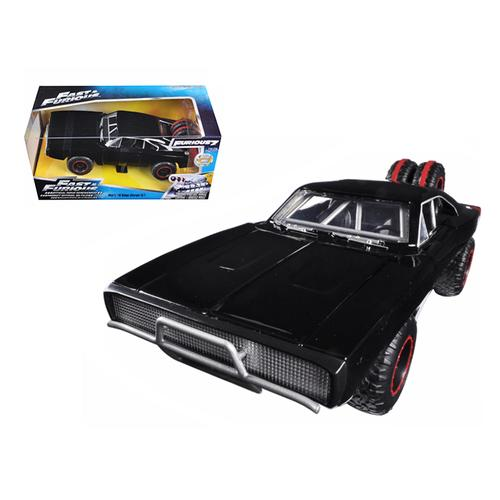 "Dom's 1970 Dodge Charger R/T Off Road Version ""Fast & Furious 7"" Movie 1/24 Diecast Model Car by Jada"