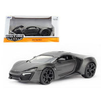 Lykan Hypersport Primer Gray 1/24 Diecast Model Car by Jada