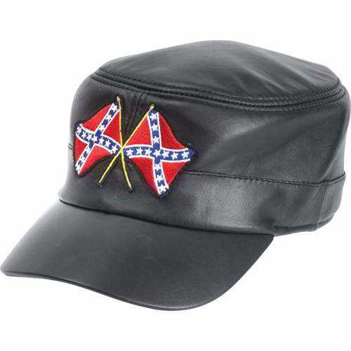 Solid Genuine Leather Cap
