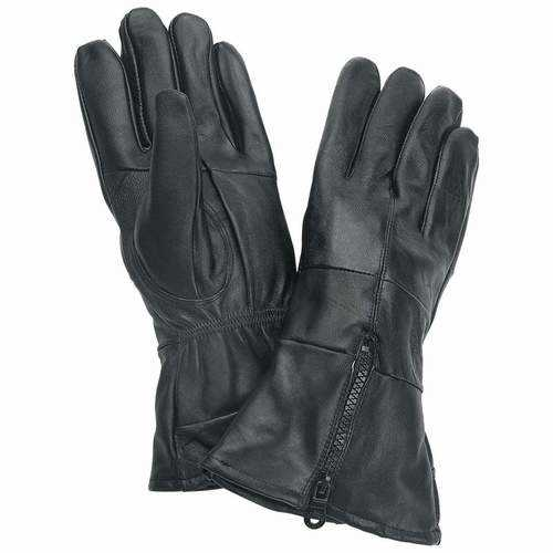 Solid Genuine Leather Gloves
