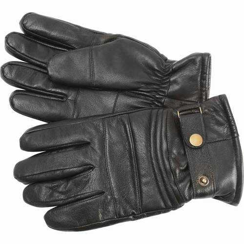 Solid Genuine Goat Leather Motorcycle Gloves