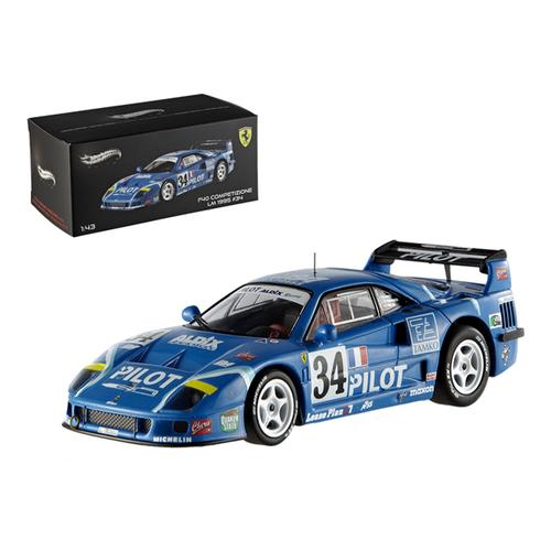 Ferrari F40 Le Mans 1995 Competizione #34 Elite Edition 1/43 Diecast Car Model by Hotwheels