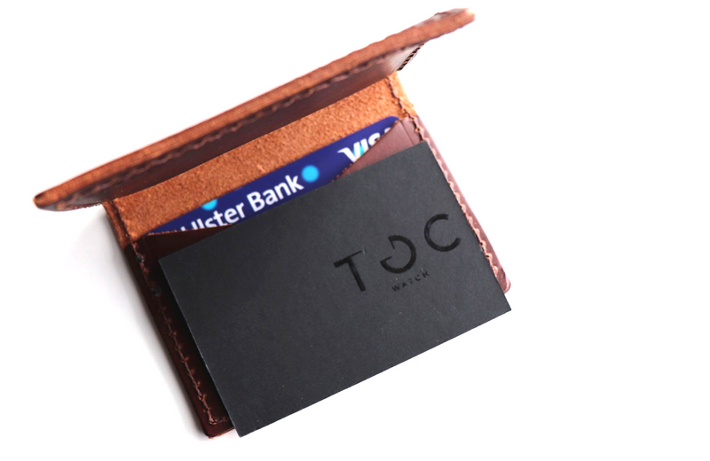 TOC BUSINESS CARD HOLDER