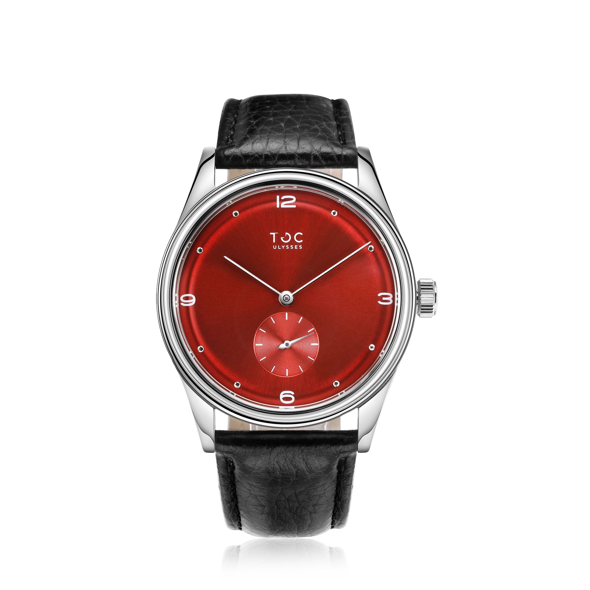 with rd style leather vintage inspired womens dial red thin s petite by women eva watch products tokyobay watches