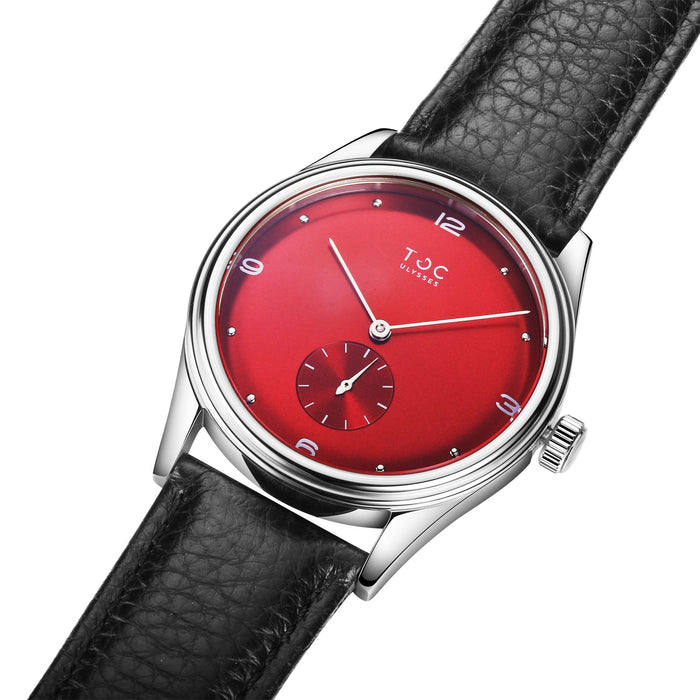 ULYSSES CRIMSON RED 36MM
