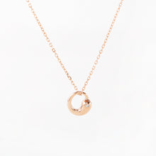 Dolphin Necklace, 18k Rose Gold on Sterling Silver - Pavcier Unique Jewelry