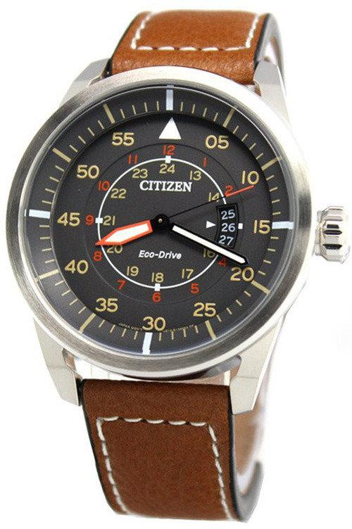 the best attitude b402b 2ee0c Citizen Eco-drive Aviator Power Reserve Aw1360-12h Men's Watch
