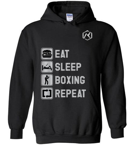 Eat, Sleep, Boxing, Repeat (Hoodie)