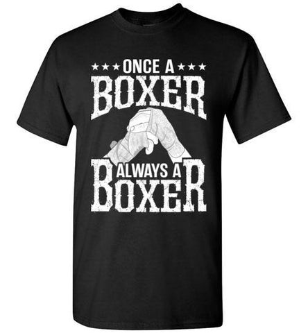 Once A Boxer, Always A Boxer