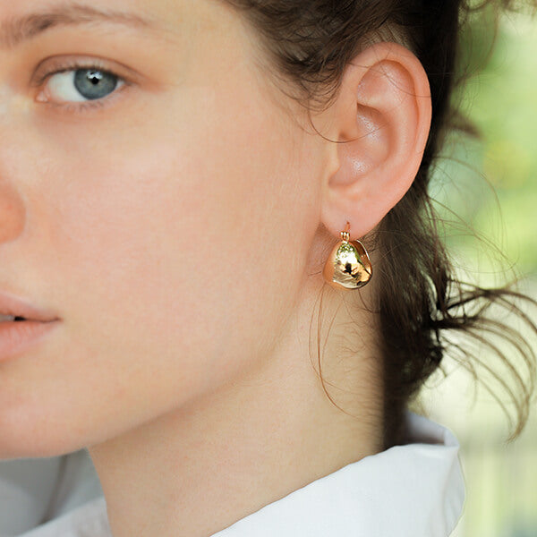 Ana Luisa Earrings Hoop Earrings Abby Gold