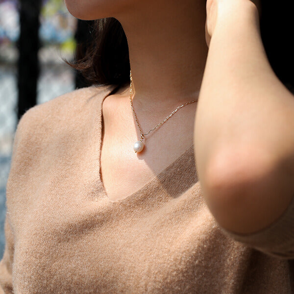 Ana Luisa Jewelry Necklaces Layered Necklaces Naomi Freshwater Pearl Gold
