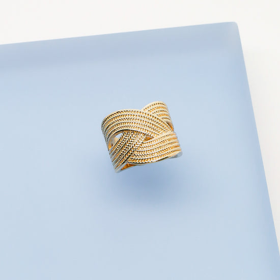 Gold Adele Cocktail Ring
