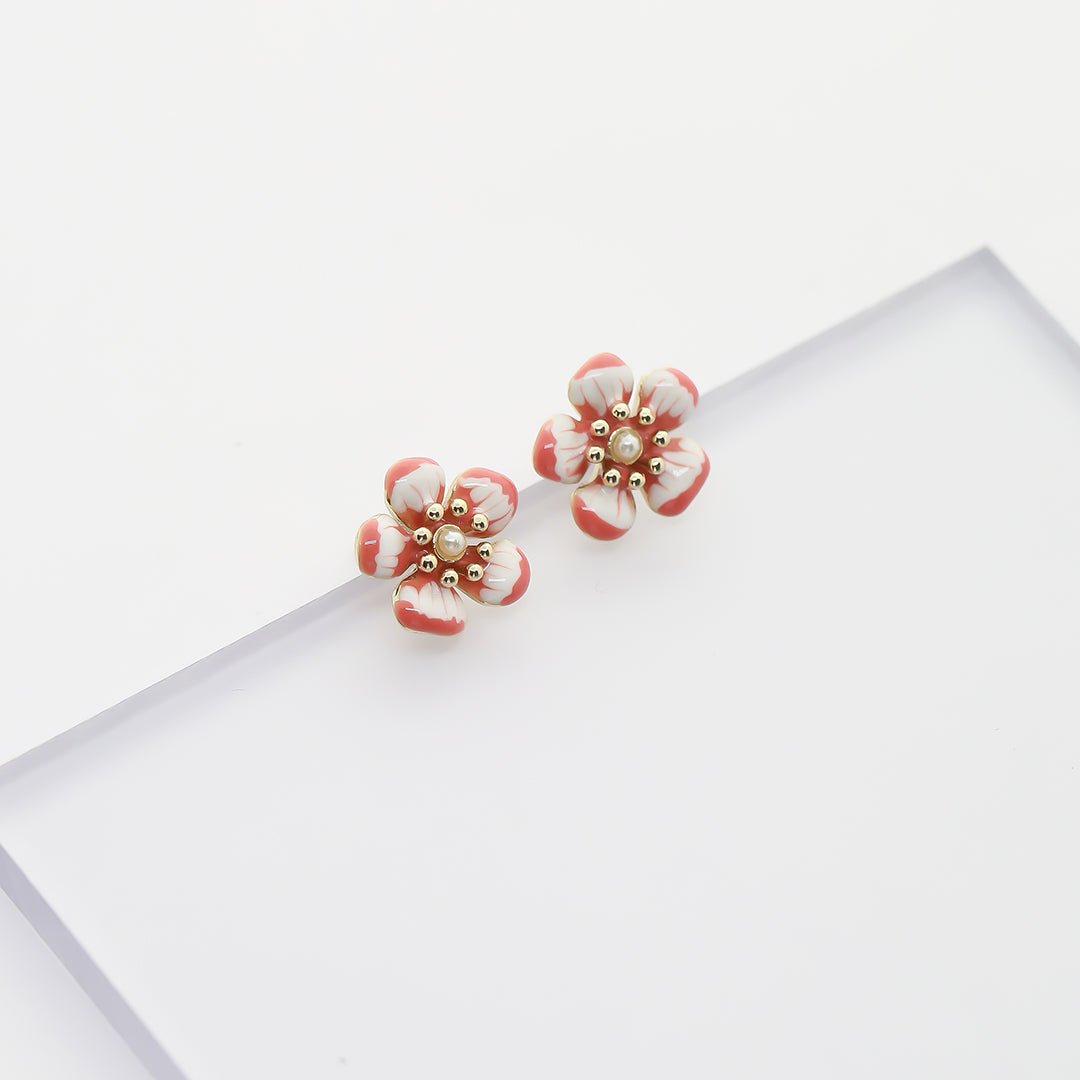 Ana-Luisa-Earrings-Studs-Delicate-Earrings-Iris-Gold-Pink